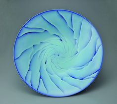 Shomura Ken by Onishi Gallery, large bowl with Galaxy design, porcelain, via Flickr