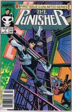 punisher 1 comic book near mint