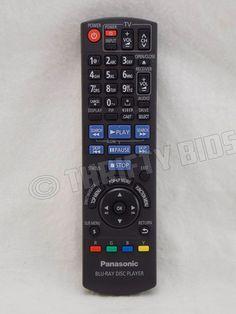 Genuine Panasonic N2QAKB000076 Blu-Ray Disc Player Remote Control RTN2QAKB000076…