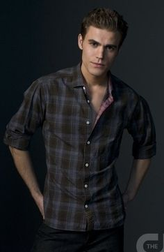 Paul Wesley<3 If yu dont know who he is , sit down and shut up .