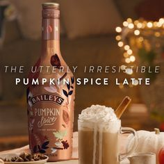 Pumpkin Spice Latte Are you even doing pumpkin spice season right if you aren't adding Baileys Pumpkin Spice to your latte? Fall Drinks, Holiday Drinks, Party Drinks, Cocktail Drinks, Mixed Drinks, Drinks Alcohol Recipes, Yummy Drinks, Alcoholic Drinks, Beverages