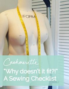 Plus size dress form, mannequin, dressmaker's dummy // Cashmerette size kleid nähen Plus size sewing dress forms: what you need to know Sewing Hacks, Sewing Tutorials, Sewing Patterns, Sewing Tips, Sewing Projects, Shirt Patterns, Clothes Patterns, Dress Patterns, Basic Sewing