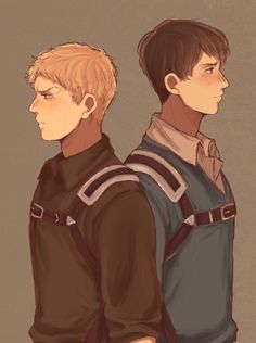 Attack on Titan | Reiner Braun and Bertholdt Fubar