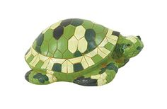 Green Turtle Decor -- Find out more details by clicking the image : Musical Boxes and Figurines