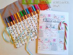 {Free printable} Un cahier d'activités pour attendre Noël!