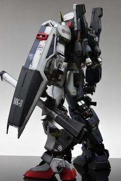 "RX-178 Gundam Mk-II ""Two Faces"" Ver.Titans/A.E.U.G. Modeled by Skull."