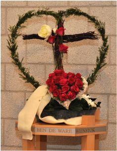 Liturgisch bloemschikken Pasen 2011