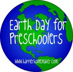 earth day activities and books for preschool