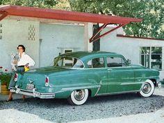 1953 De Soto FireDome V-8 Club Coupe
