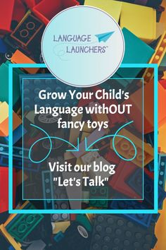Think about growing a baby's language without expensive toys. Read this blog post and get the mindset that language is everywhere you look. #earlyintervention #parenting #SLP #speechlanguagedevelopment