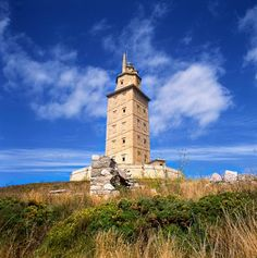 TripBucket - We want You to DREAM BIG! | Dream: See Tower of Hercules, Spain (UNESCO site)
