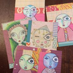 Handmade postcards b