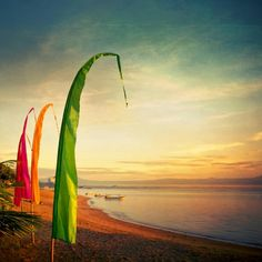 Beach sunset #Bali