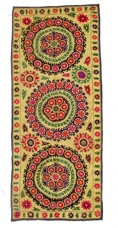 Antique Suzani NL1830 - Uzbek-Craft.Com