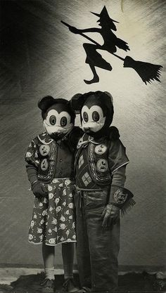 Vintage Halloween - so creepy!!