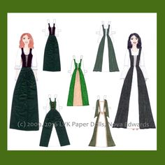Thank you for visiting LVK Paper Dolls, which offers a variety of paper dolls: custom portrait paper dolls, historical, bride, princess, mermaid,