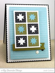 Nordic Knits, Sweater Stitch Background, Blueprints 20 Die-namics - Jodi Collins #mftstamps