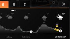 Automotive User Interface Concept by Andreas Bardenhorst, via Behance Dashboard Ui, Dashboard Design, Interface Design, User Interface, Ux Design, Graphic Design, Car Ui, Personal Portfolio, Web Application