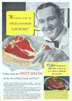 Swifts Steak Recipe 1951 Ad Picture