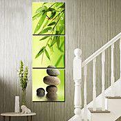 moderne stil naturskjønne lerret veggklokke 3... – NOK kr. 460