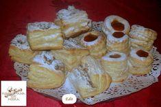 Hozzávalók: A tésztához: 70 dkg liszt 40 dkg darált háj 2 ek. Hungarian Recipes, Camembert Cheese, French Toast, Food And Drink, Bread, Baking, Coffee, Breakfast, Pastries