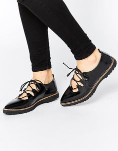 Truffle Collection Rydell Ghillie Chunky Flat Shoes