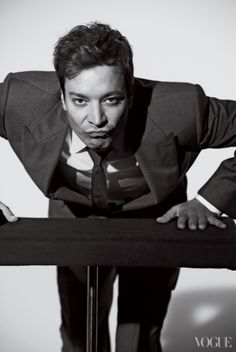 Jimmy Fallon's Long-Lost Modeling Photos Are Hysterical | Hollyscoop