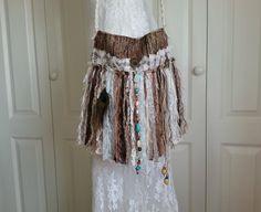 Gypsy Fringe Bag  Bohemian Fringe Bag  Boho Chic by Pursuation
