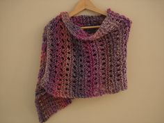 Knitted Shawl Tutorial