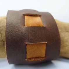 Leather Cuff (DiModa inlay?)
