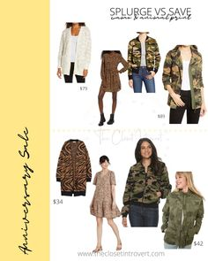 Camo jackets and animal print sweaters and jackets for fall and curvy Hot Tickets, Nordstrom Sale, Barefoot Dreams, Camo Jacket, Wrap Cardigan, Look Alike, Anniversary Sale, Dupes, Curvy Fashion