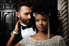 A beautiful styled shoot, full of vintage Art Deco Glamour inspired by the Photography by Prince Photography