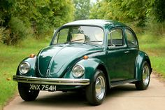 1970 VW Beetle... my first car! I miss that car SO much! mine was canary yellow plastered in Greatful Dead stickers