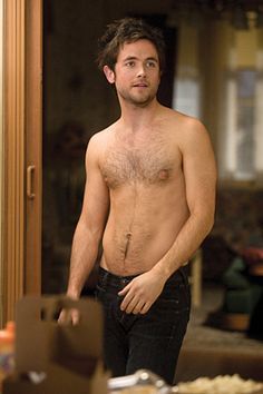 The only way this gets any hotter is if he has a hairy back....LOVE ME SOME FUR..,, LOVE ME SOME JUSTIN CHATWIN!  Original caption: Shameless