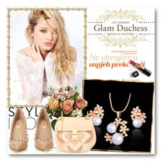 """""""Glam Duchess"""" by glamduchess ❤ liked on Polyvore featuring Silvana, Nearly Natural, Valentino, Chloé and Chanel"""