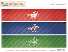 kentucky-derby-printables-Paper-Bands