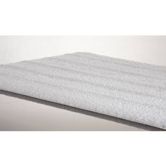 Silver Stripe Large Bath Rugs - 24 x 40: Kassatex® Silver Stripe Large #BathRugs are made in Portugal of 100% Cotton, a radiant elegance. These Bath Rugs are famous for their Modern design, sophisticated construction, remarkably softness and absorbency.