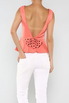 Bow Dot Top #wholesale #bow #clothing #fashion #summer #love #ootd #wiwt #shorts #skirts #dresses #tanks Tanks, Tank Tops, Top P, Girls Best Friend, My Wardrobe, Summer Fun, Passion For Fashion, Beautiful Outfits, Style Me