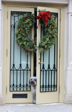 Wonderful Wreathed In Smiles. Decorating Your HomeIdeas For DecoratingHoliday DecoratingFront  Door ...