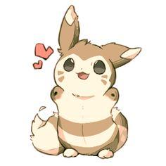 From キャラメリゼ・ナイトフィズ ... furret, pokemon