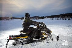 Ride the Edge on Sleds
