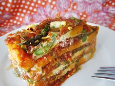Gluten-Free, Dairy-Free Vegetable Lasagna (I've made it  - this stuff is like crack)