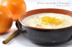 Un delicioso arroz con leche aromatizado con naranja que gusta a todos