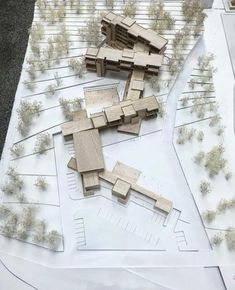 My dissertation project Internat Faculty of Architecture Silpakorn University - Architecture Ideas Architecture Model Making, Study Architecture, School Architecture, Masterplan Architecture, University Architecture, Landscape Model, Floor Plan Layout, Arch Model, Master Plan