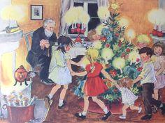 Rare Astrid Lindgren Christmas Book Danish by PrettyHappyVintage
