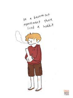 Bilbo by Gingerhaze