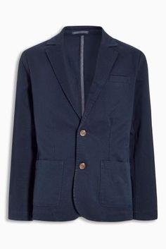 Navy Cotton Blazer (12mths-16yrs) Code: 368-704 Price: £20
