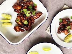 Kuřecí křídla Tandoori Chicken, Chicken Wings, Meat, Baking, Ethnic Recipes, Food, Bakken, Essen, Meals