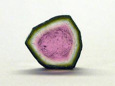 Watermelon Tourmaline Slice 1.86 Carats by TheRareGemShop on Etsy