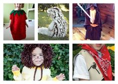 Homemade Halloween Costumes: 11 Kids Halloween Costume Ideas Free eBook | AllFreeSewing.com